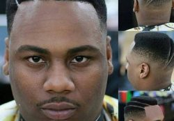 High and Tight with Double Part black man